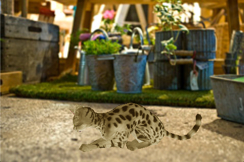 Screenshot Savannah Petting cat 3D REAL